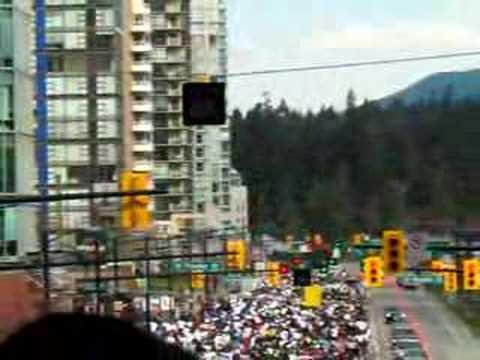 vancouver sun run. Vancouver Sun Run 2008