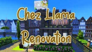 Chez Llama - Renovation Battle - THE SIMS 4