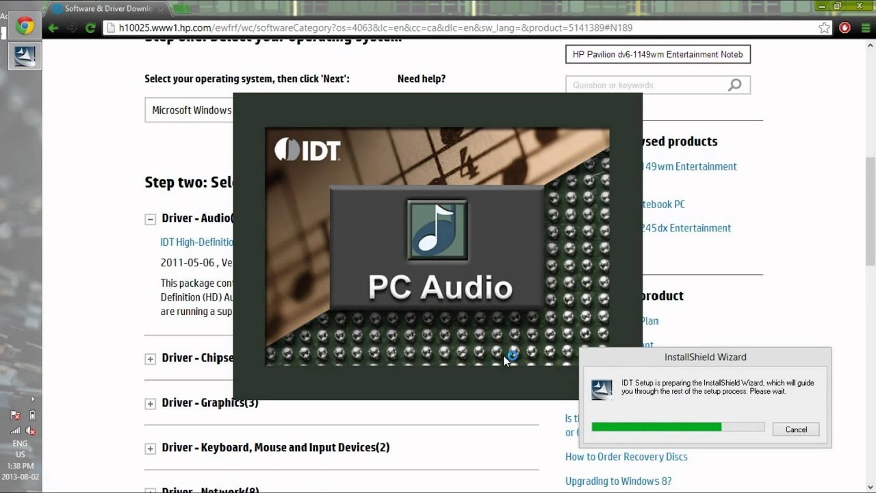 Installing missing beats audio after windows 8 upgrade hp youtube