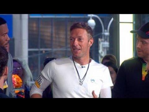 Coldplay Live on 'GMA' | Chris Martin Previews World Tour
