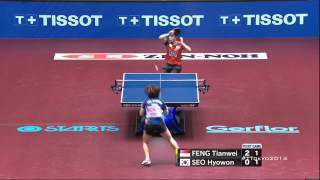 One of the best Table Tennis Rallies You will See