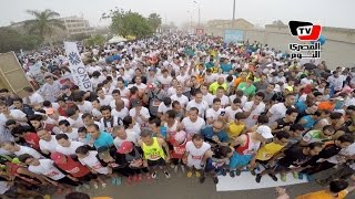 الآلاف يشاركون في نصف ماراثون «كايرو رانرز»
