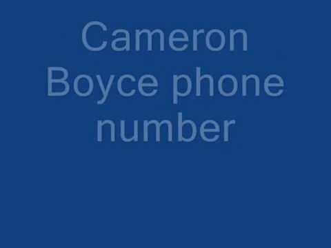 Cameron boyce phone number real 2015 youtube