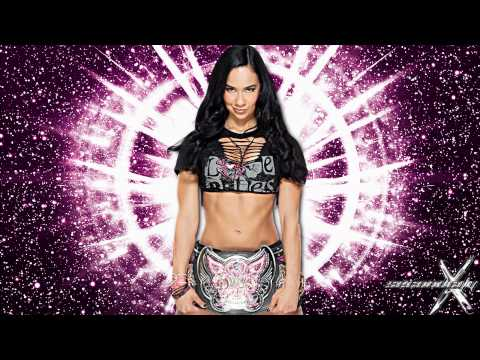 20112013: AJ Lee 4th WWE Theme Song - Lets Light It Up (1080p...