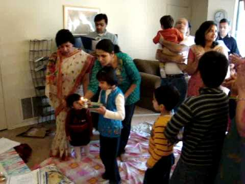 Jain Pooja At Manish And Meghna's Home On Jan 4th video