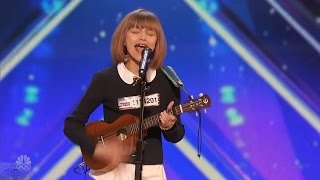 America's Got Talent 2016 Grace VanderWaal 12 Y.O. Singer Songwriter Full Audition Clip S11E02