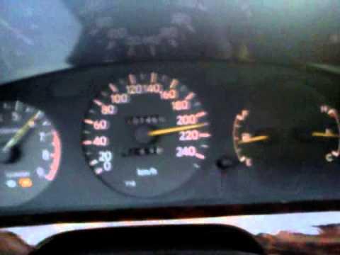 Toyota Carina E Gti 200 Km H T 243 L 220 Km H Ig Youtube