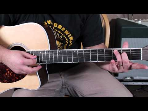 Easy Beginner Guitar Lessons - Easy Acoustic Songs Van Morrison Style