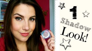 One-Shadow Look! Fast & Easy