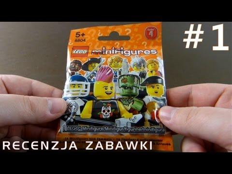 Tajemniczy Ludzik Lego z Saszetki #1 - polska recenzja zabawki - Lego Minifigures Series 4