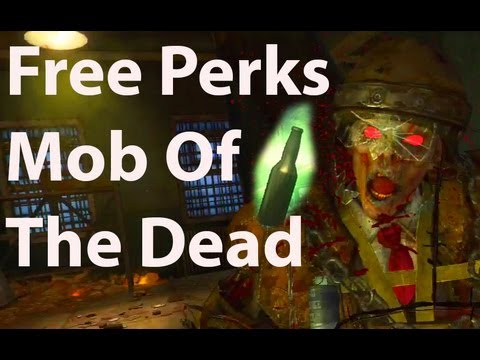 Free Perks In Mob Of The Dead (Theory)