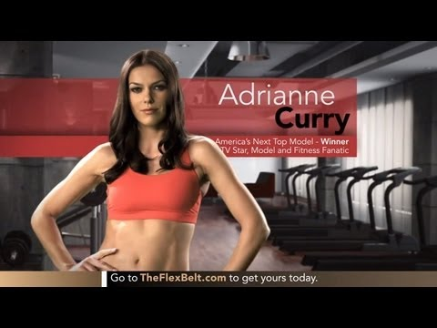 Adrianne Curry Loves The Flex Belt To Tone Her Abs -- See What She Says!