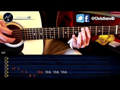 Como tocar LA PANTERA ROSA en Guitarra Acustica COMPLETO Principiantes (HD) Tutorial Riffs