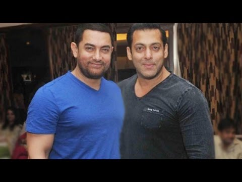 Aamir Khan makes fun of Salman Khan | Bollywood Stars' Funny Side