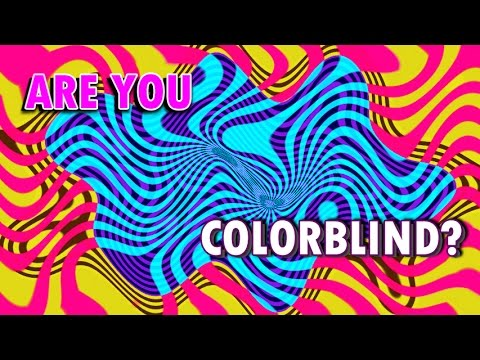 Are You Color Blind?  Tiene daltonismo? Music Videos