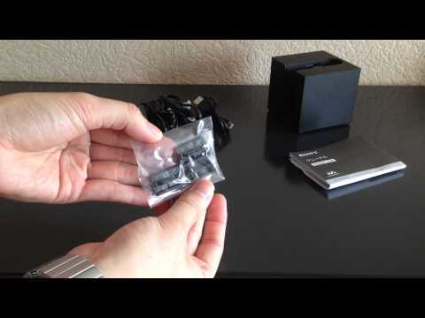 [Unboxing] Docking Station Audio transport pour Walkman ZX2 ZX1 Hi-Res Audio Sony (BCR-NWH10)