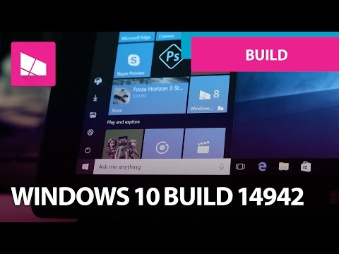Windows 10 Build 14942 - Mini Start Menu, Photos, Active Hours + MORE