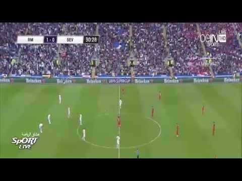 Real Madrid vs Sevilla 2 0 All Goals And Highlights  UEFA Super Cup  HD 2014