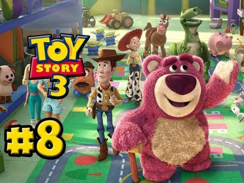Toy Story 3 The Video-Game - Part 8 - The Junkyard (HD Gameplay Walkthrough)