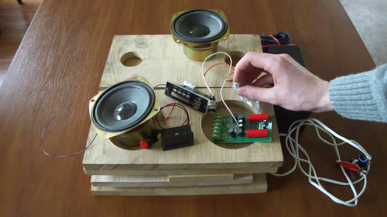 Как сделать усилитель звука из колонки своими руками 78