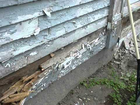 How To Replace Sills In An Old House Youtube