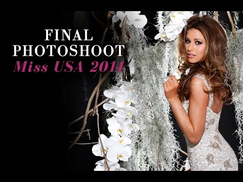 Miss USA 2014, Nia Sanchez Final Photoshoot