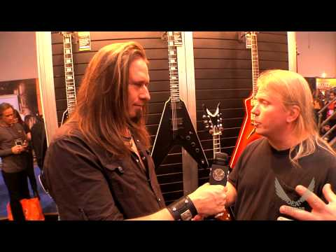 Dean Guitars 2014 N.A.M.M. Interview - Karl Sanders