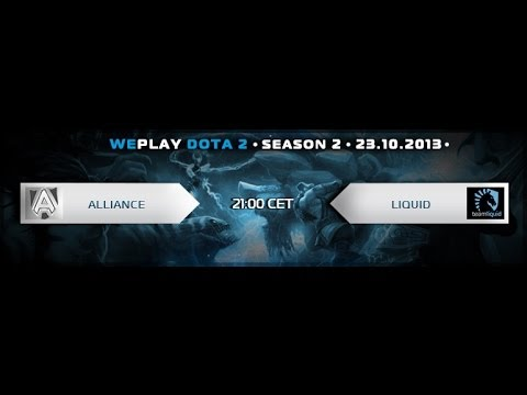Weplay D2L playoff:NaVi vs Alliance game 2