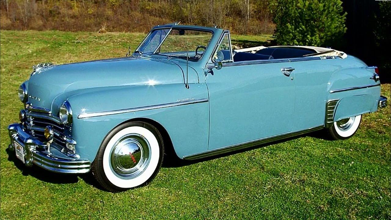 1949 Chrysler Special Deluxe Convertible 54 Xxx Mile