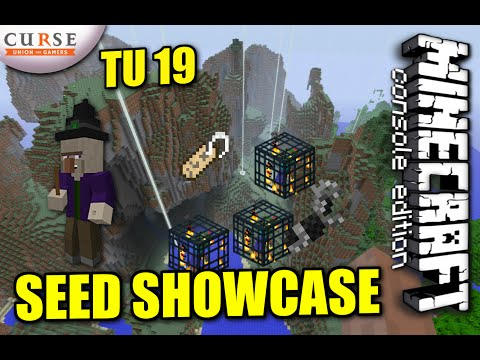 MINECRAFT - PS3 - TU19 SEED -HORSE ARMOUR / WITCH HUT / SPAWNERS - SHOWCASE ( PS4 / XBOX )