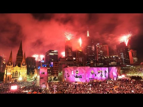 Melbourne | New Year Celebration 2017 | Fireworks