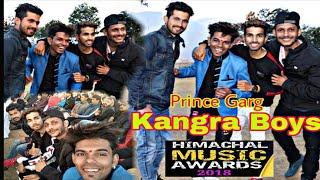 Kangra Boys |Comedian prince garg |Himachal music award 2018