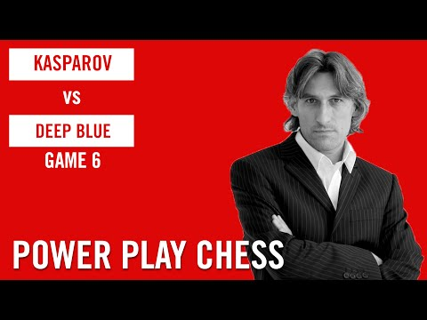 Garry Kasparov vs Deep Blue 1996 Game 6