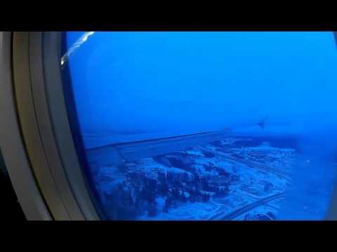 Landing to Helsinki Finland