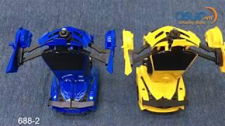 Hướng Dẫn Xe robot Điều Khiển Biến Hình Lamborghini Cảm Ứng 688-2 - Asun.vn