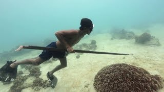 EARTH DAY DIARY – Badjao Spearfishermen, Spearfishing in Bohol, Philippines