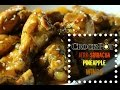Crock-Pot ® Jerk Sriracha Pineapple Wings - I Heart Recipes