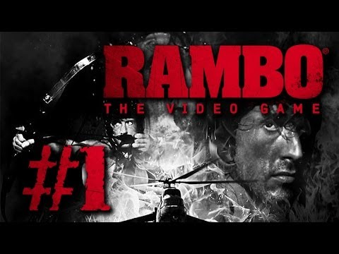 Rambo: The Video Game - Gameplay #1 - Let's Play Rambo German