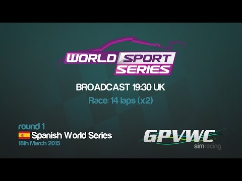 GPVWC 2015 - World Sport Series R01 - Spanish Sport Series