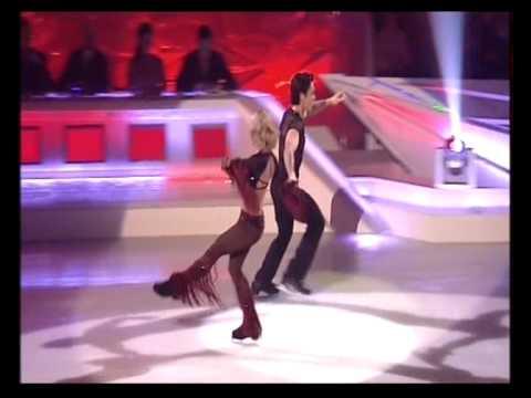 Ray Quinn and Maria Filippov skating Week 5