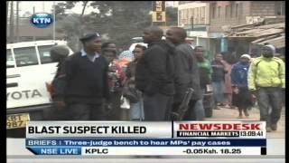 KTN Newsdesk: Nairobi Terror Blast Suspect Killed