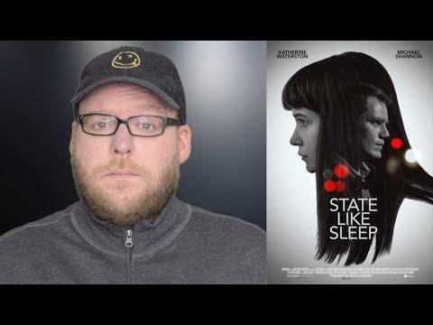 State Like Sleep | Movie Review | Katherine Waterston VOD Mystery | Spoiler-free