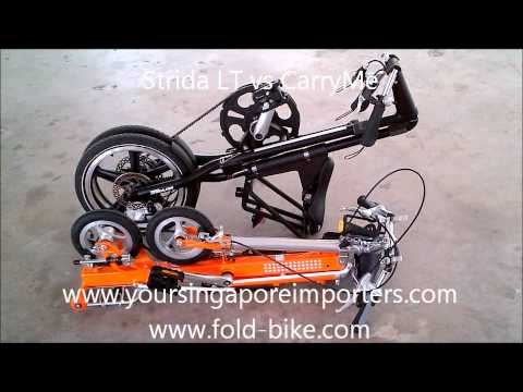 Strida LT vs CarryMe ( Singapore )