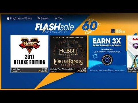 October 2017 | PSN Flash Sale