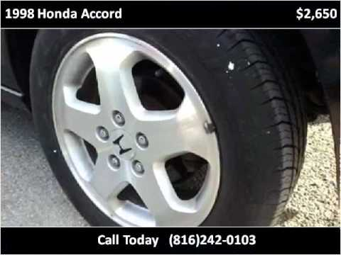 1998 Honda Accord Used Cars Kansas City MO