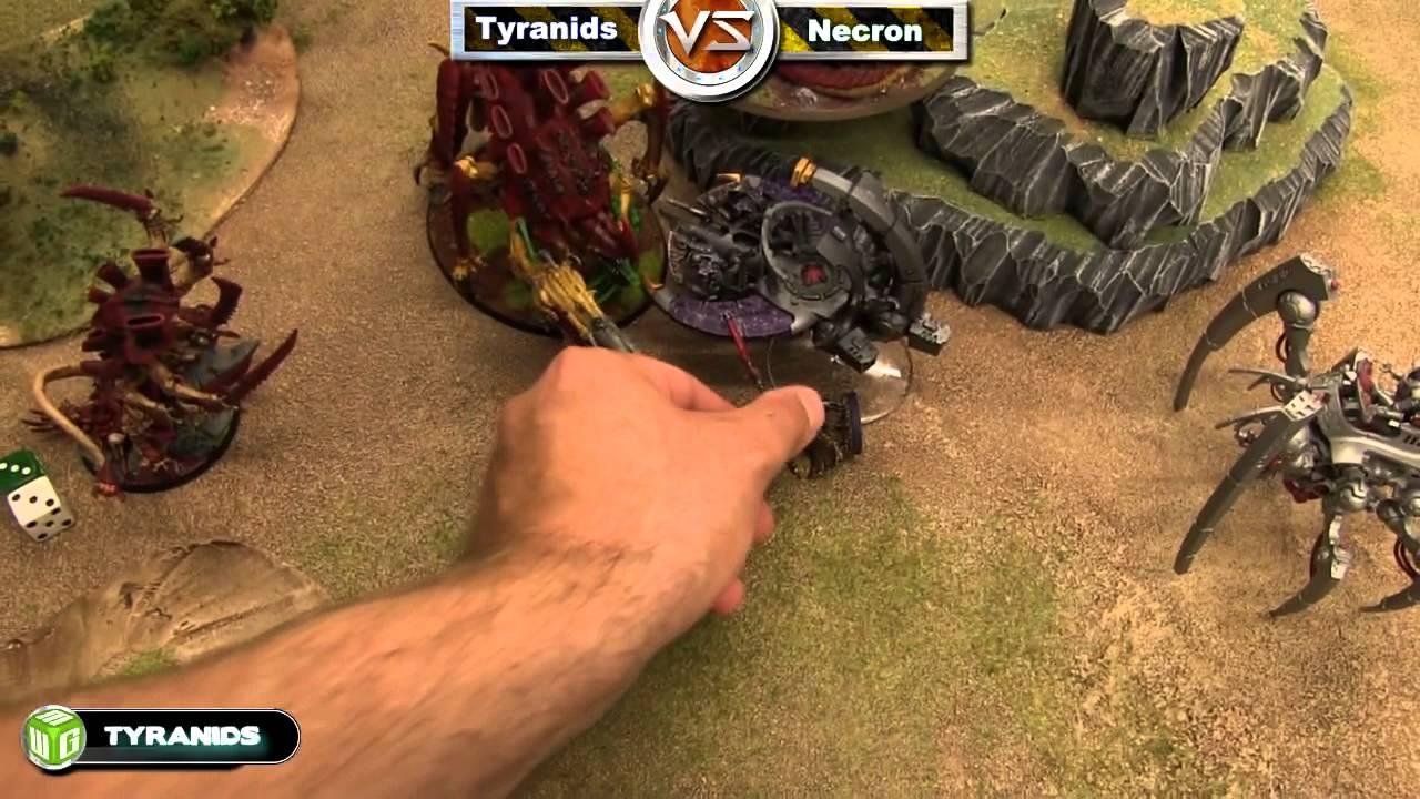Necron vs Tyranids Warhammer 40k Battle Report - Beat The ...