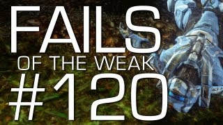 Fails of the Weak: Ep. 120 - Funny Halo 4 Bloopers and Screw Ups! | Rooster Teeth