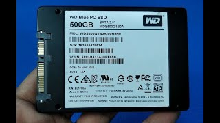 How to Upgrade your Laptop HDD to SSD & Windows 10 Installation | WD Blue 500GB SSD #WDBlueSSD