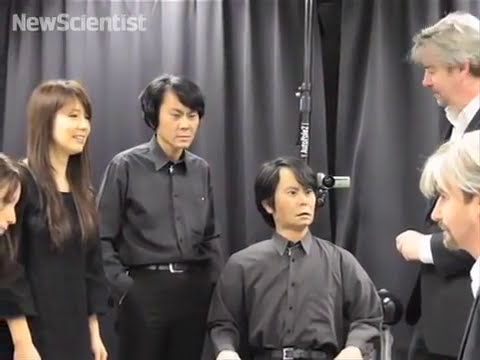 Geminoid Robot looks just like its human master.