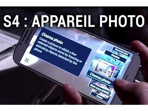 Samsung Galaxy S4, présentation de l'appareil photo - par Test-Mobile.fr